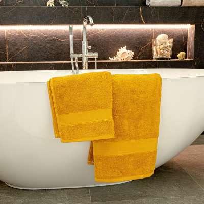 Ręcznik Cairo 50x90cm yellow Łazienka - Dekoria.pl