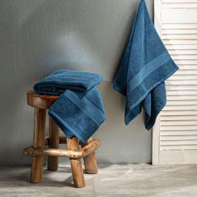 Handtuch Cairo 70x140cm blue Badtextilien - Dekoria.de