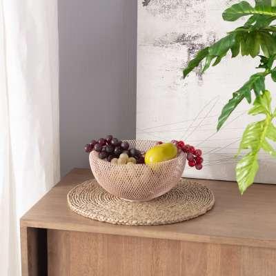 Misa Wire ⌀24,5cm pink Dekorace - Dekoria-home.cz