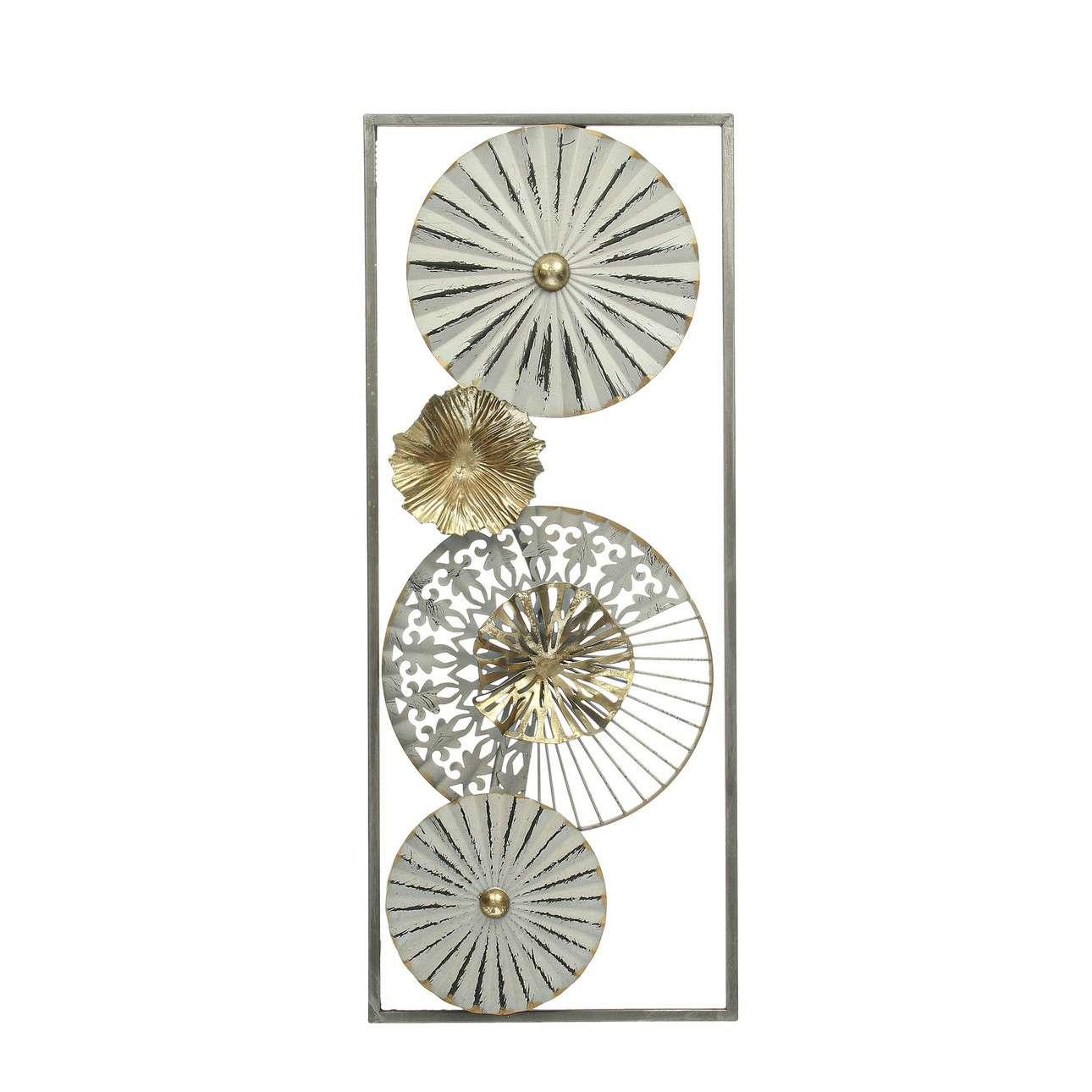Nástěnná dekorace Amaya white 60cm