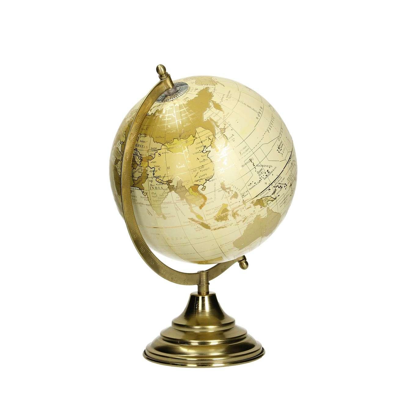 Dekoration Globe Gold 32cm