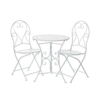 Gartenmöbel-Set Romantic Tisch + 2 Stühle