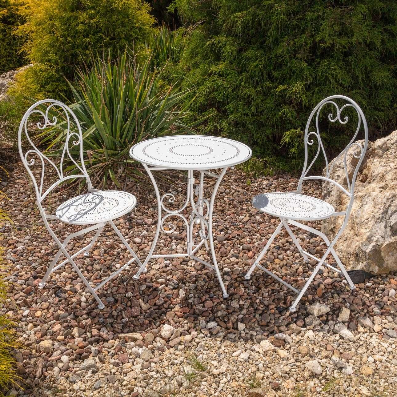 Zestaw ogrodowy Romantic stolik+2 krzesła