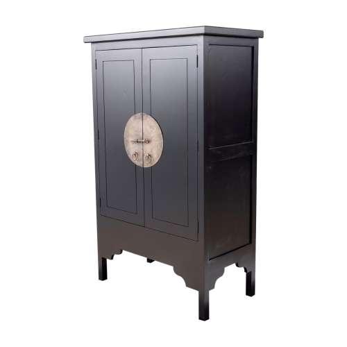 Büfettschrank Modern black 104x56x170cm