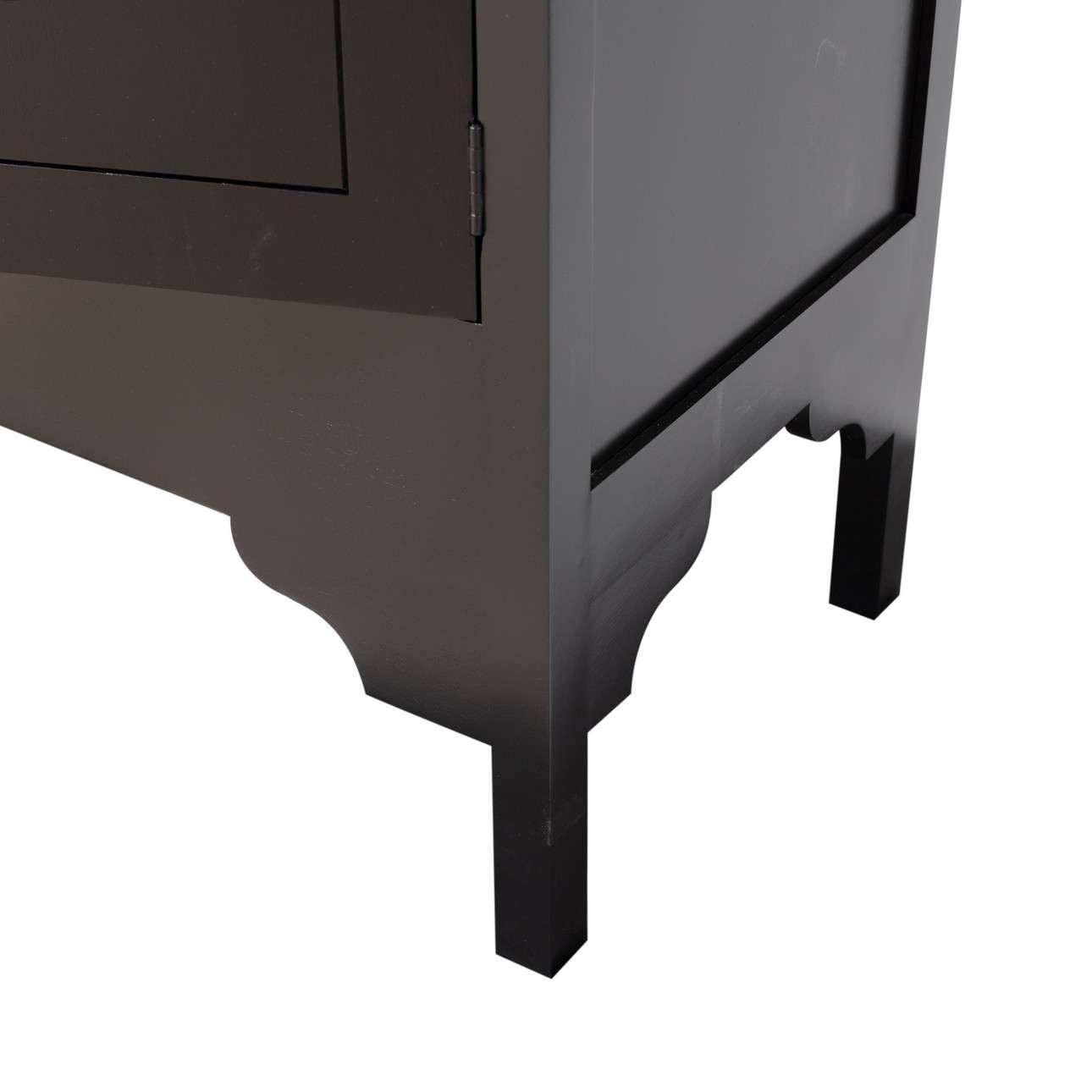 Kredens Modern 104x56x170cm black