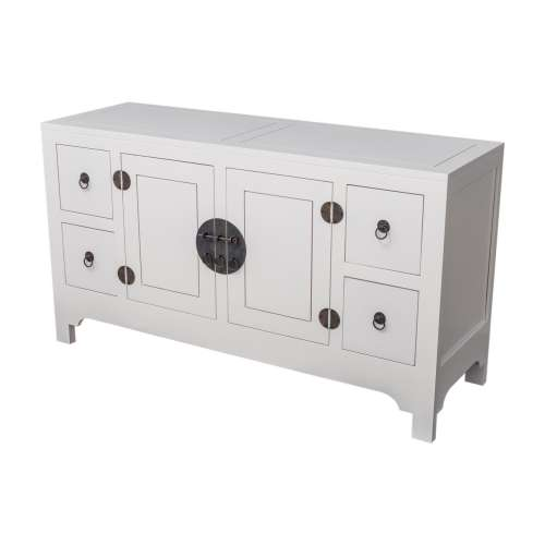 Dressoir Modern white 137x45x76cm