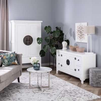 Dressoir Modern white 137x45x76cm Meubels - Dekoria.nl