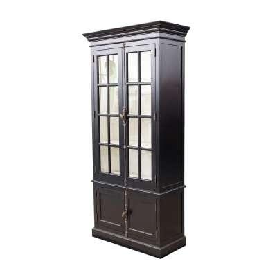 Witryna Josephine 4-drzwiowa 100x45x212cm black