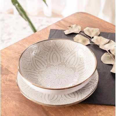 Miseczka Flores 19cm Ceramika i porcelana - Dekoria.pl