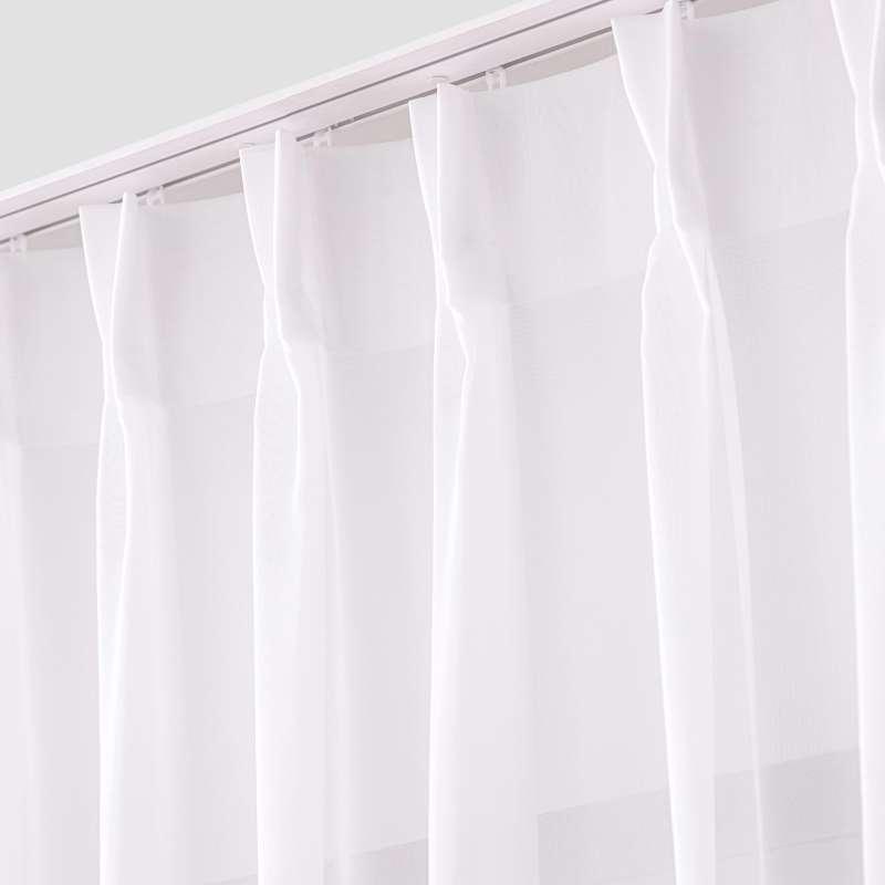 Záclona na hačcích flex v kolekci Voile - Voál, látka: 901-00