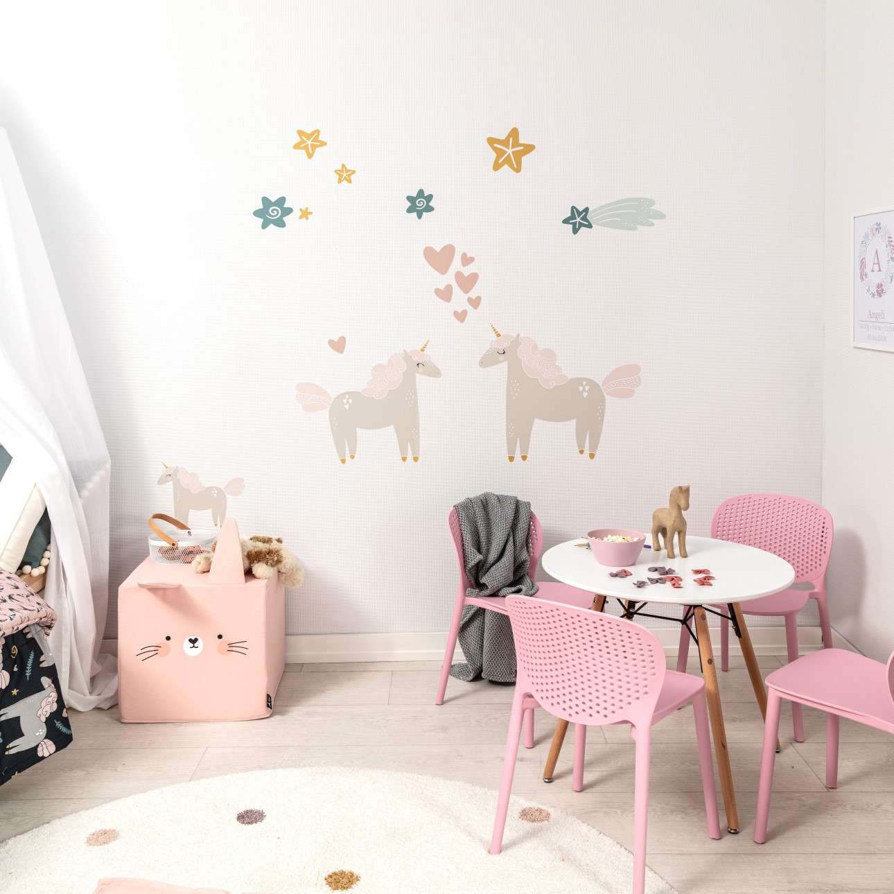 Aufkleber-Set Lovely Unicorn