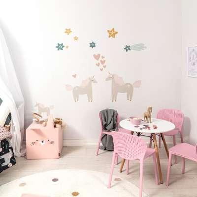 Zestaw naklejek Lovely Unicorn Naklejki dekoracyjne - Yellowtipi.pl