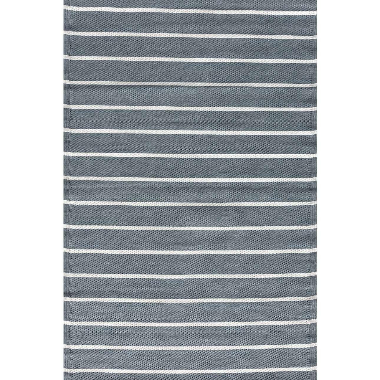Dywan Strips white/gray 120x180cm