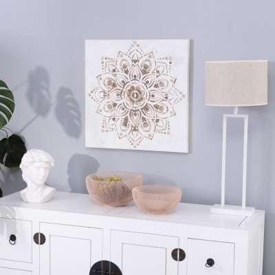Leinwandbild Mandala I 60x60cm