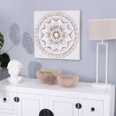 Leinwandbild Mandala II 60x60cm