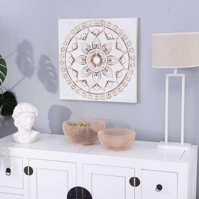 Leinwandbild Mandala II 60x60cm Bilder - Dekoria.de