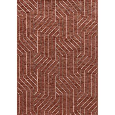 Teppich Velvet wool/rust 120x170cm Teppiche - Dekoria.de
