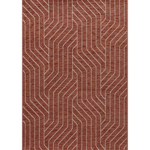 Koberec Velvet wool/rust 120x170cm