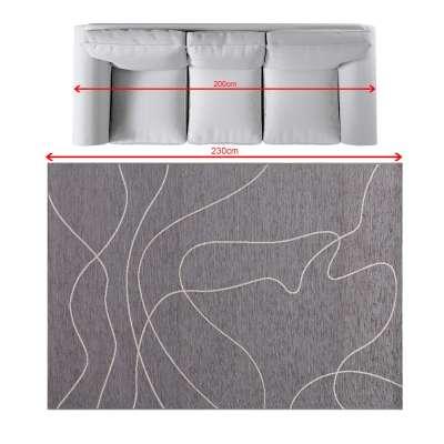 Teppich Velvet 160x230cm wool/dark grey