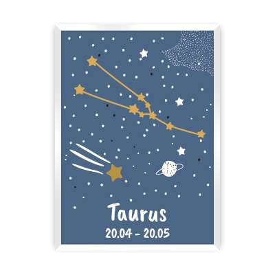 Zodiac Taurus Picture Pictures and posters - Yellowtipi.uk