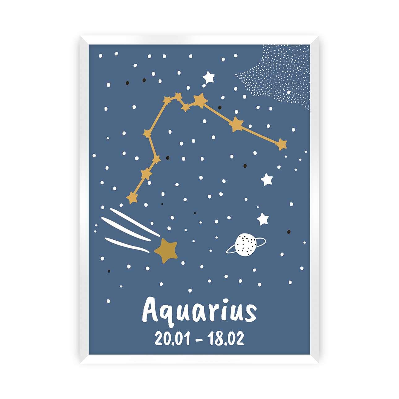 Obrazek Zodiac Aquarius
