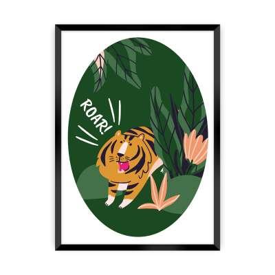 Obrazek Jungle Life tiger