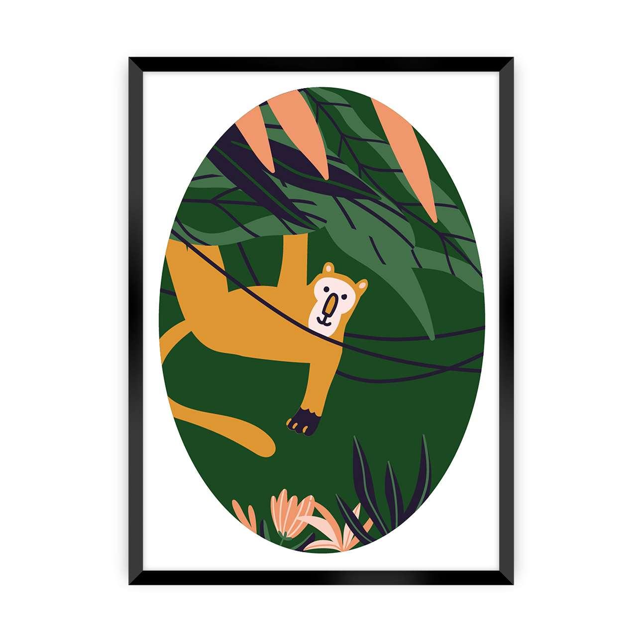 Obrazek Jungle Life monkey