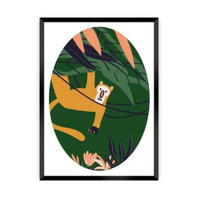 Bild Jungle Life monkey Bilder & Poster - Yellow-tipi.de