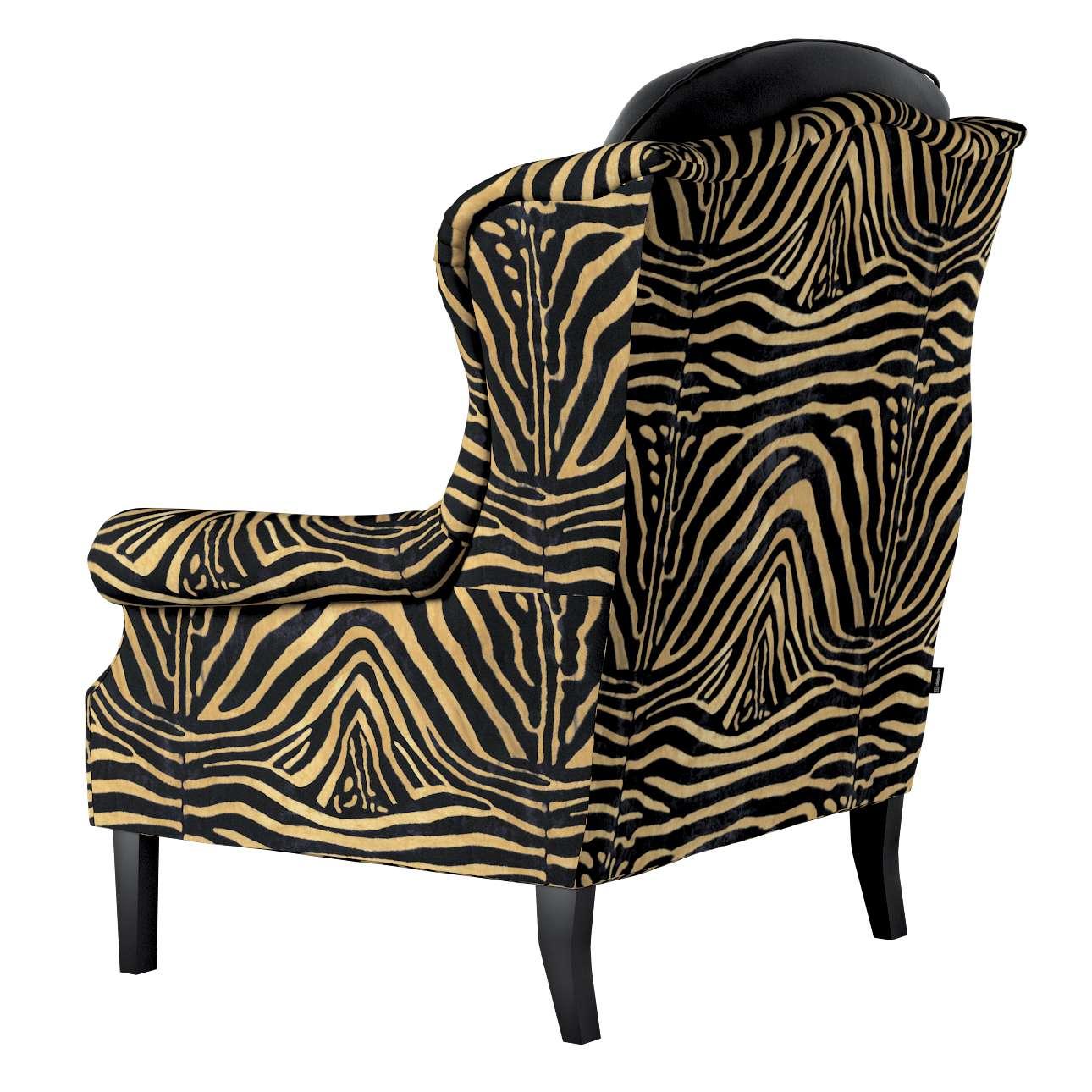 Fotel dwukolorowy 142-43