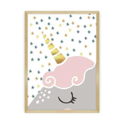 Bild Lovely Unicorn I Bilder im Rahmen - Yellow-tipi.de