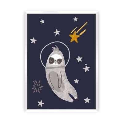 Bild Happy Sloth Bilder & Poster - Yellow-tipi.de