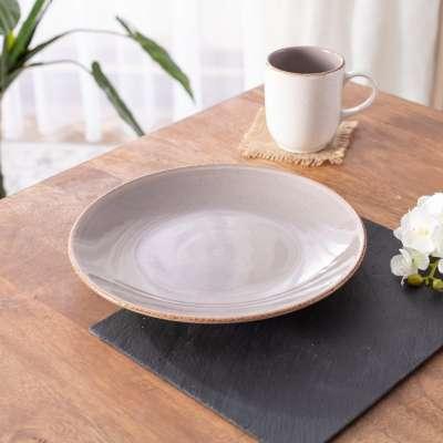 Teller Simply Gray 27cm Teller - Dekoria.de