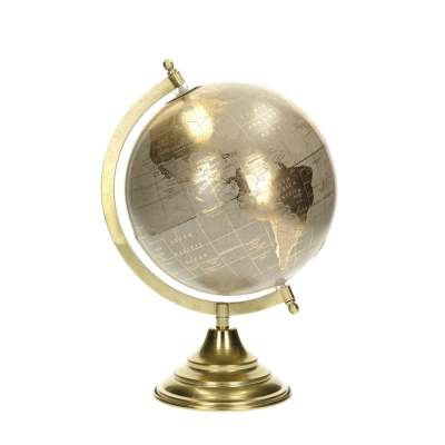 Dekoration Globe Gray 32cm Dekofiguren & Objekte - Dekoria.de