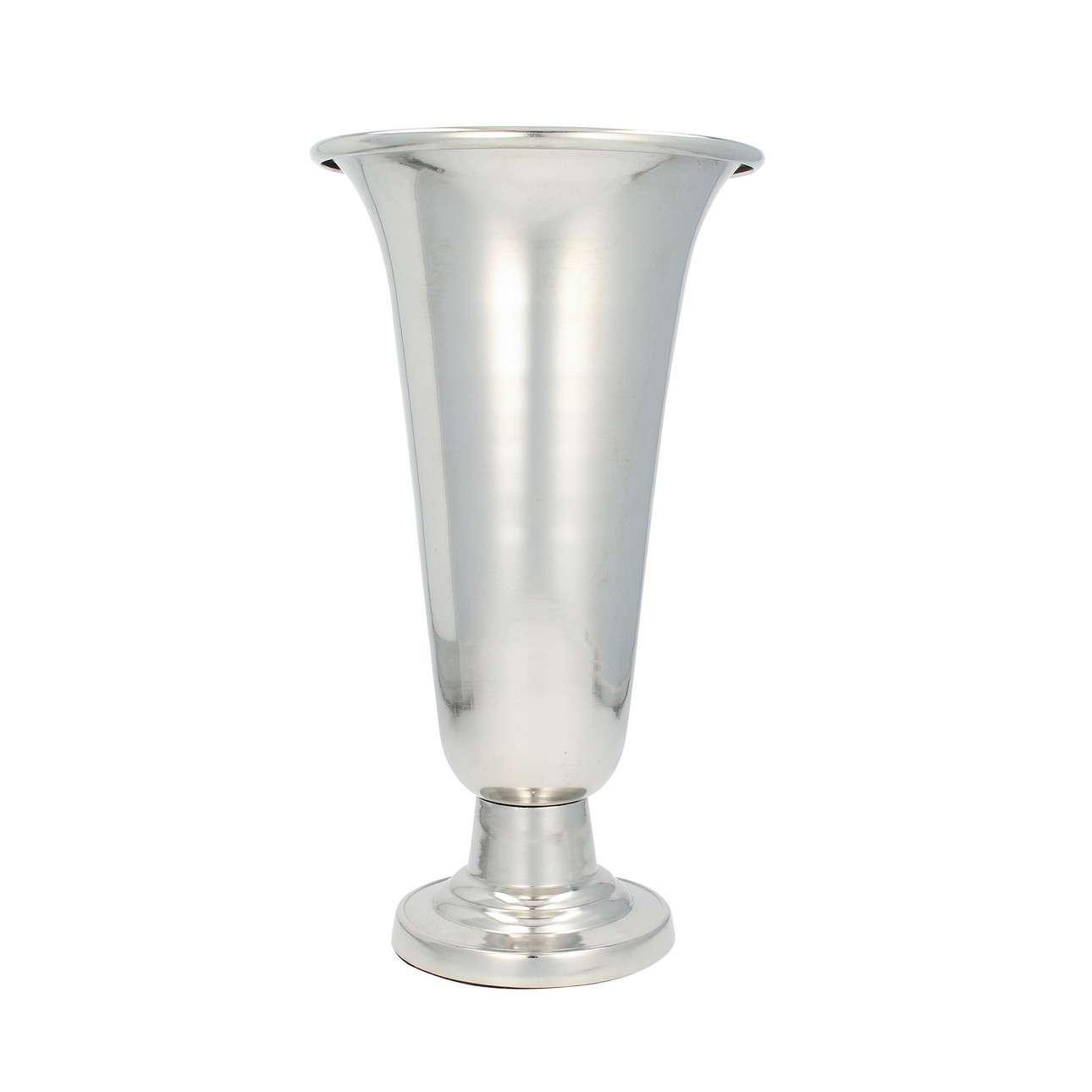 Wazon Velo Silver 39cm