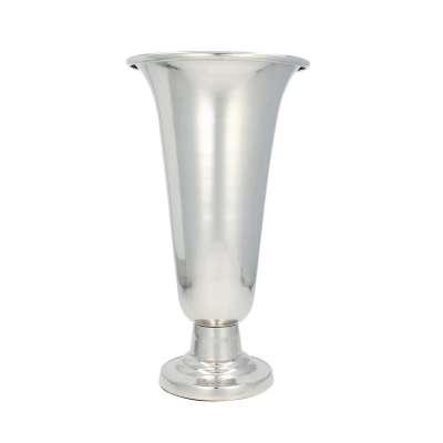 Vase Velo Silver 39cm Vasen - Dekoria.de