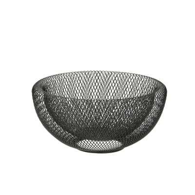 Schüssel Wire ⌀25cm black Schalen und Tabletts - Dekoria.de