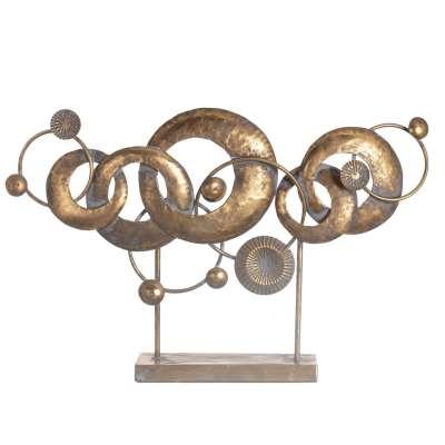 Dekoration Golden Orbits 50cm