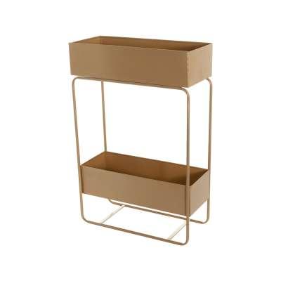 Blumenständer Wiggo gold 61x25x91cm