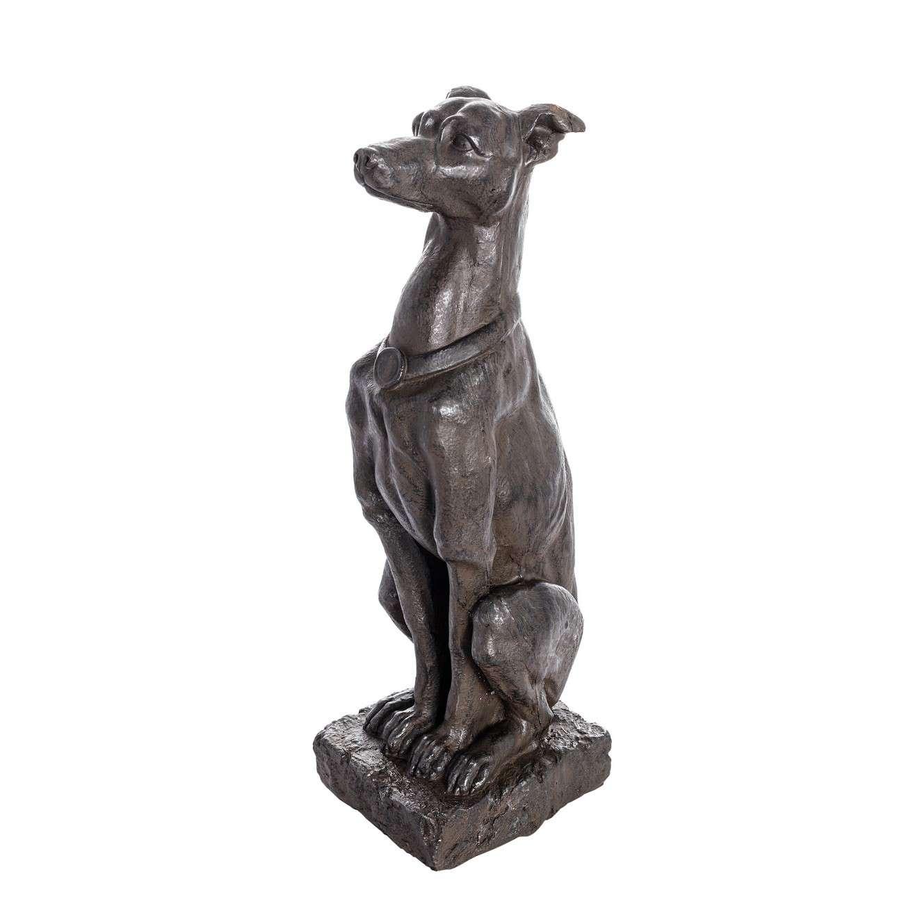 Dekoobjekt Greyhound 80cm