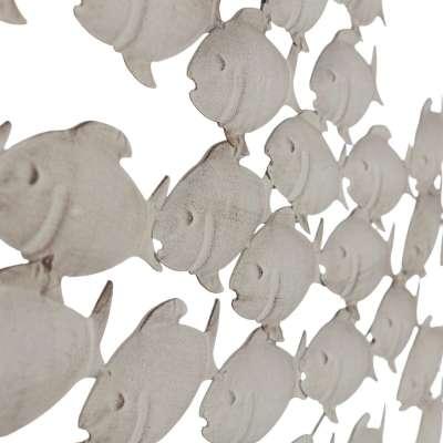 Wanddekoration Fishy 51 cm