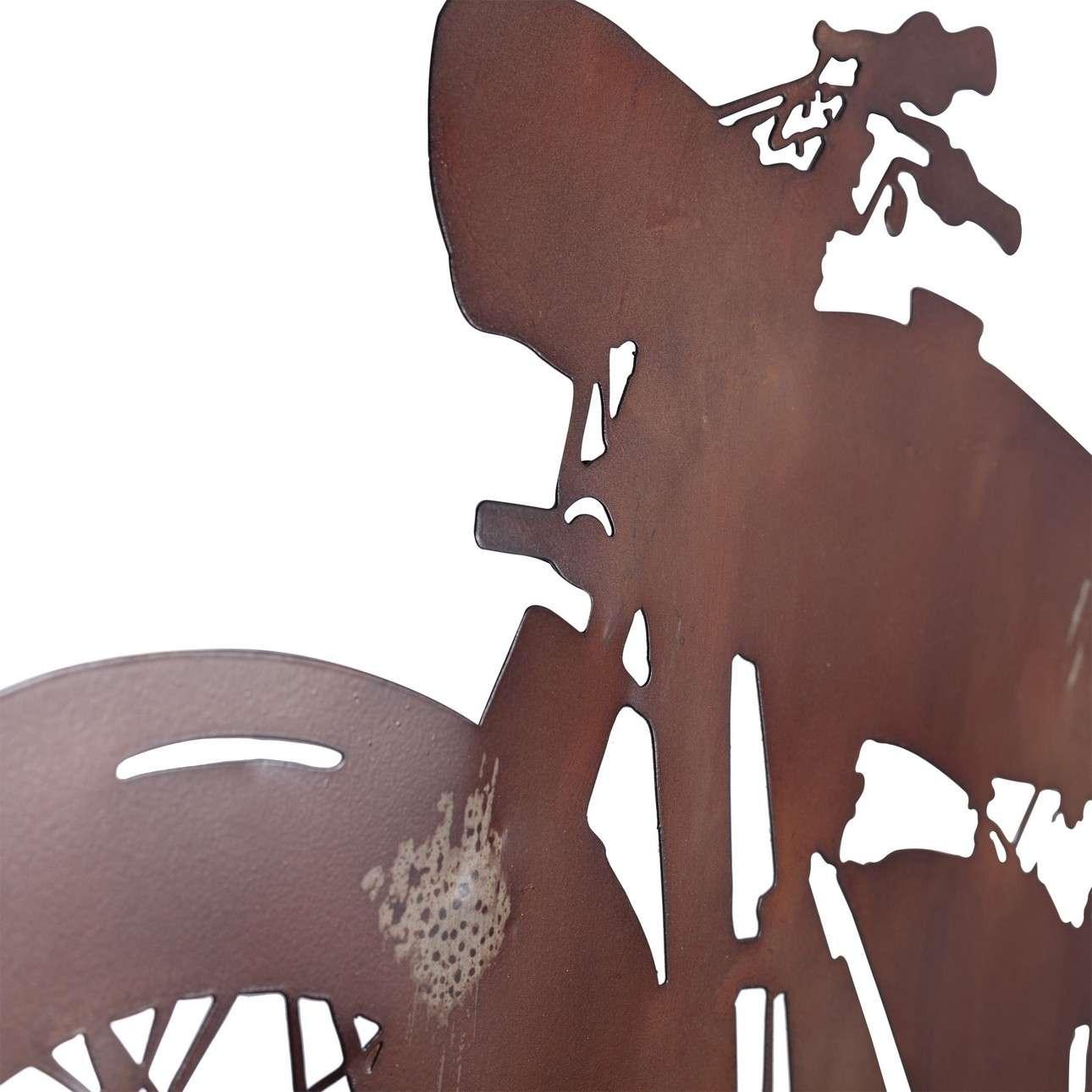 Dekoracja ścienna Rusty Motorbike