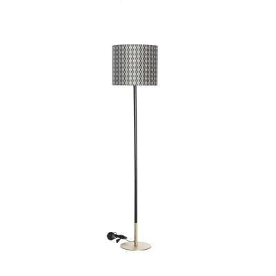 Stehlampe Hailey Black&Gray Patterns 163cm Lampen - Dekoria.de