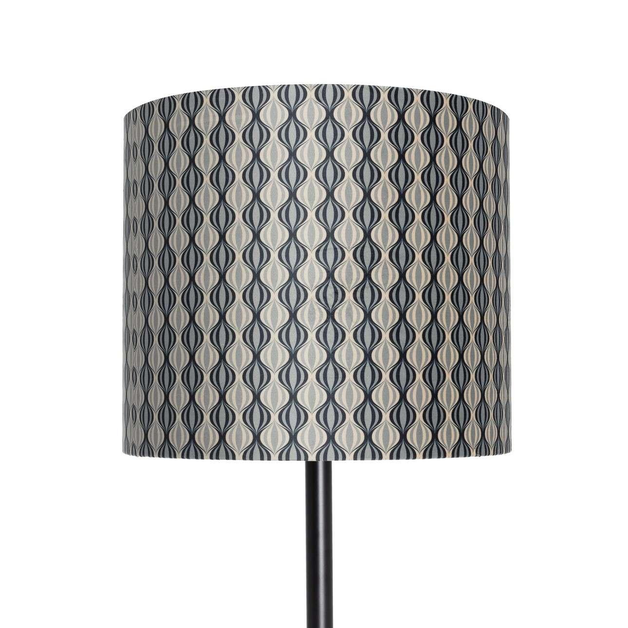 Stehlampe Hailey Black&Gray Patterns 163cm
