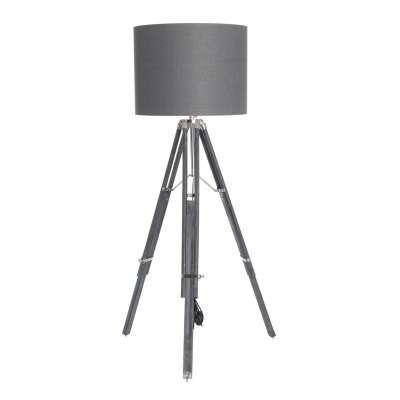 Lampa podłogowa Graphite Blossom 155cm Lampy podłogowe - Dekoria.pl