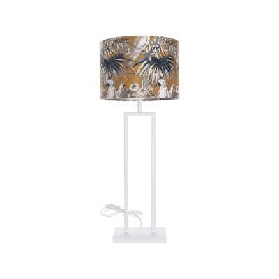 Tischlampe White Parot 78cm Tischlampen - Dekoria.de