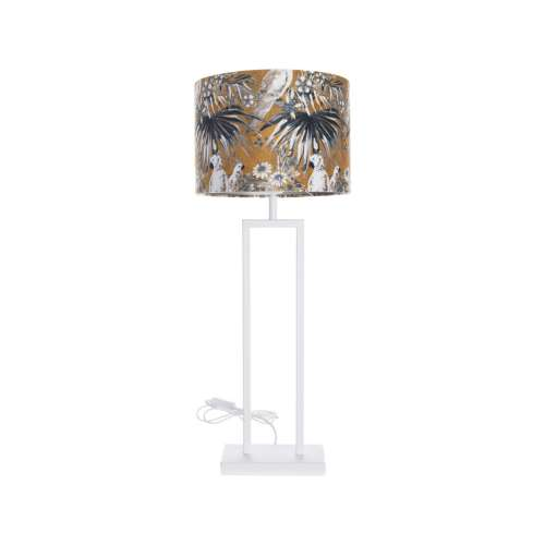 Tischlampe White Parot 78cm