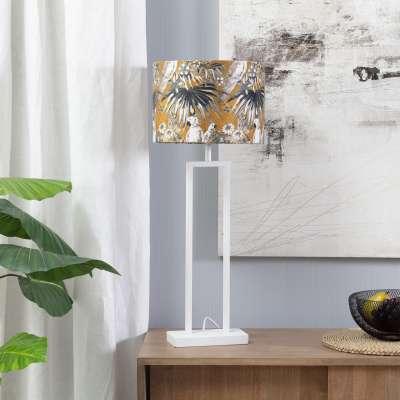 Tischlampe White Parot 78cm Lampen - Dekoria.de