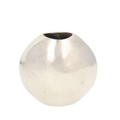 Wazon Silver Round 17cm