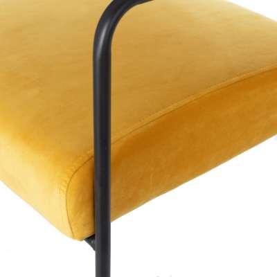 Sessel Muna Velvet mustard