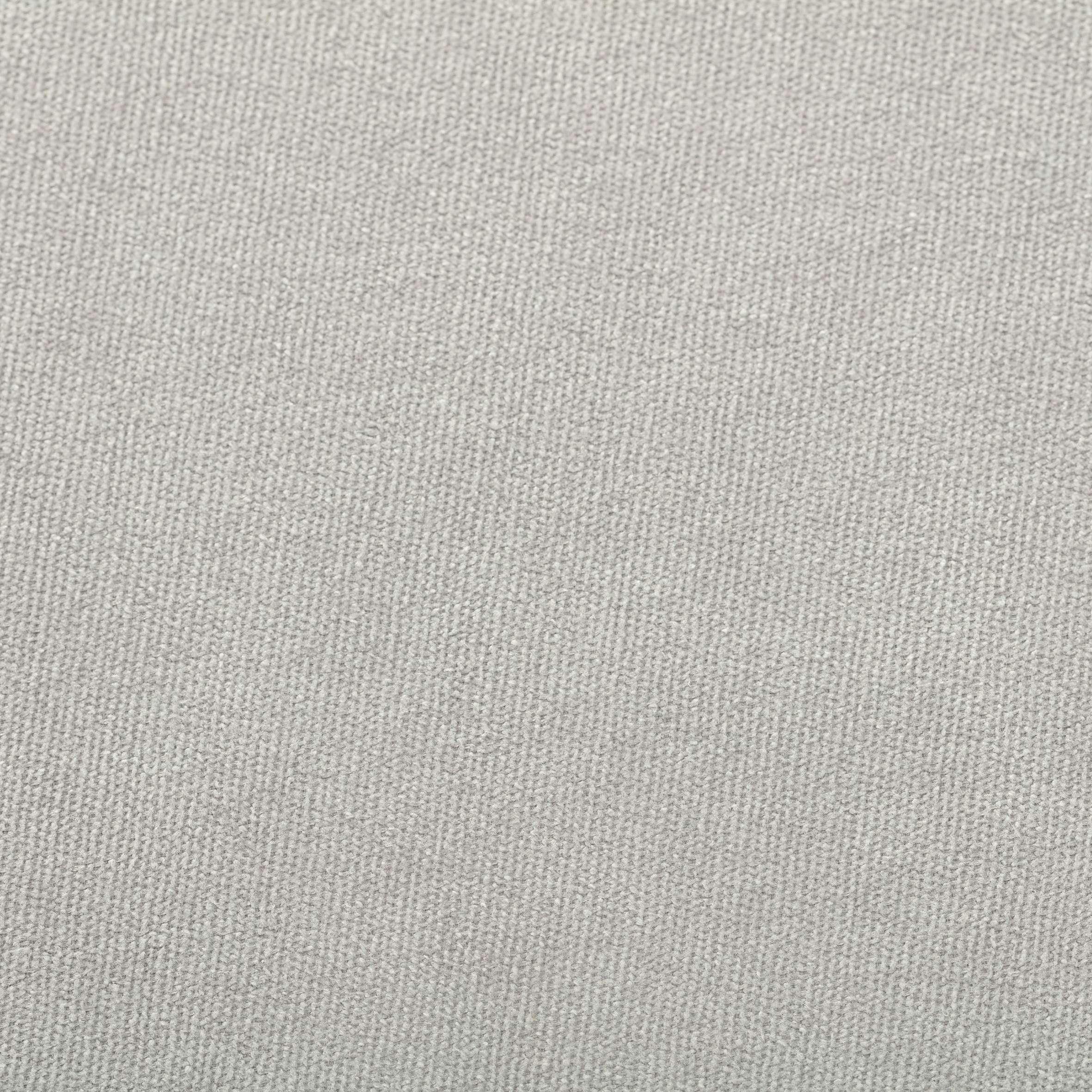 Fertigvorhang BASIC mit Kräuselband 140x280cm, Chenille hellgrau